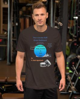 The 4 Stroke Ruff Short-Sleeve Unisex T-Shirt - Brown
