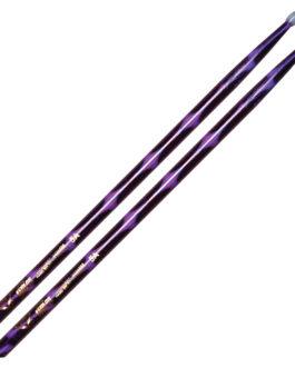 Color Wrap 5A Purple Optic Drum Sticks