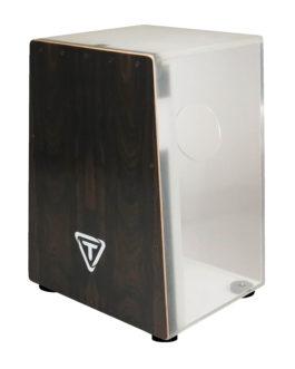 Vertex Acrylic Series Ziricote Front Plate Cajon