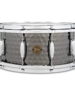 Gretsch Hammered Black Steel Snare Drum