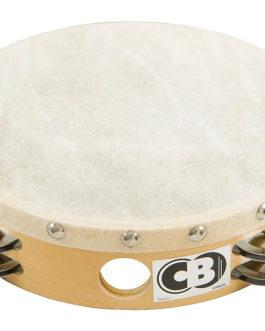8 inch. Double Row Tambourine