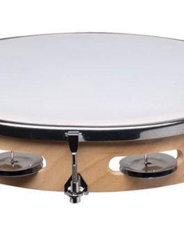 10 inch. Single Tunable Tambourine