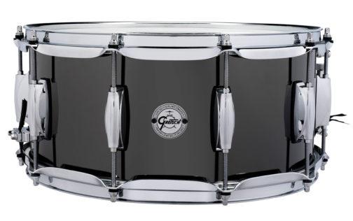 Gretsch Black Nickel over Steel Snare Drum