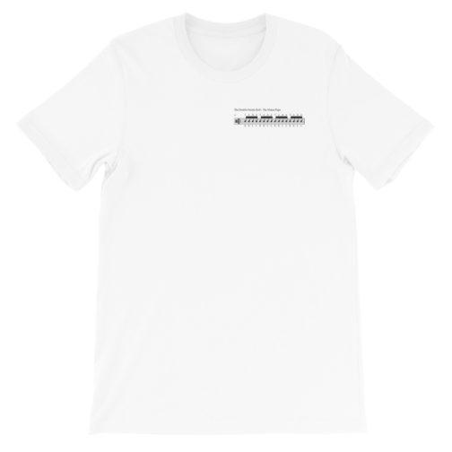 The Double Stroke Roll Drum Rudiment Short-Sleeve Unisex T-Shirt