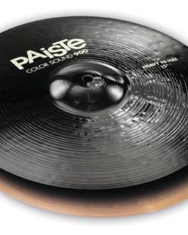 """Paiste 15"""" Color Sound 900 Black Heavy - Hi-hat"""