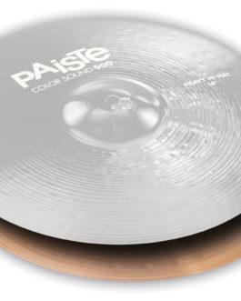 "Paiste - 14"" 900 Cs Black Heavy Hi-hat Bottom"