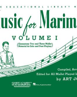 Music for Marimba - Volume I