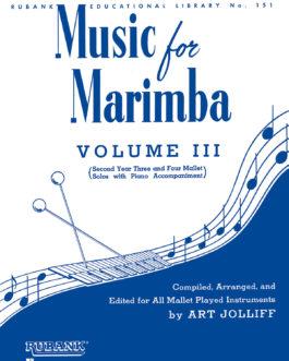 Music for Marimba - Volume III