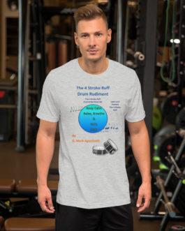 The 4 Stroke Ruff Short-Sleeve Unisex T-Shirt - Athletic Heather