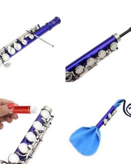 20205pcs/set Flute Piccolo Cleansing Kit strip cloth + pass strip + cork paste + screwdriver + gloves 2019