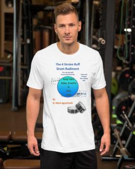 The 4 Stroke Ruff Short-Sleeve Unisex T-Shirt - White