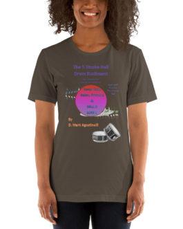 The 5 Stroke Roll Short-Sleeve Unisex T-Shirt - Army