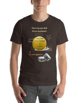 The 6 Stroke Roll Short-Sleeve Unisex T-Shirt - Brown