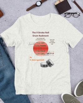 The 9 Stroke Roll Short-Sleeve Unisex T-Shirt - Ash