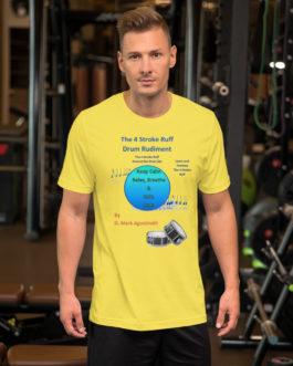 The 4 Stroke Ruff Short-Sleeve Unisex T-Shirt - Yellow