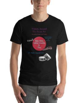 Triplets Around the Drums Short-Sleeve Unisex T-Shirt - Black