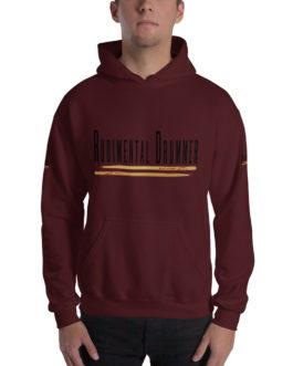 Rudimental Drummer Hooded Sweatshirt - Maroon