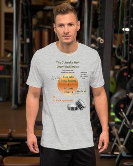 The 7 Stroke Roll Short-Sleeve Unisex T-Shirt - Athletic Heather