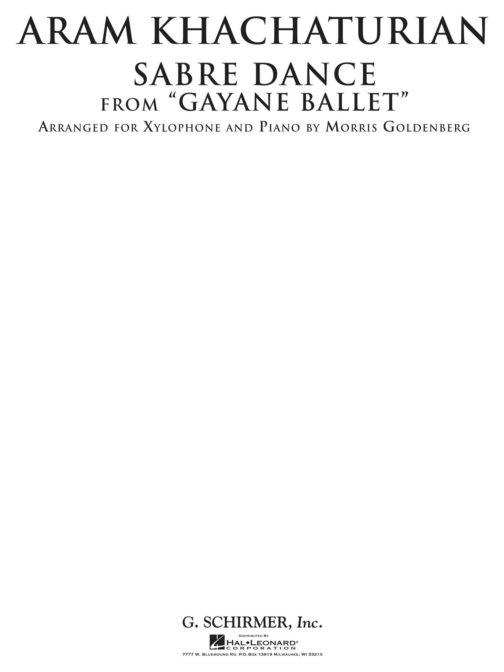 Sabre Dance from Gayane Ballet