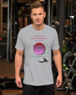 Crazy Hands - Flams Short-Sleeve Unisex T-Shirt - Silver