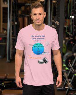 The 4 Stroke Ruff Short-Sleeve Unisex T-Shirt - Pink