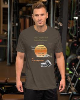 The 7 Stroke Roll Short-Sleeve Unisex T-Shirt - Army