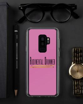 Rudimental Drummer Samsung Case (Pink) - Samsung Galaxy S9+