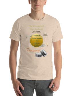The 6 Stroke Roll Short-Sleeve Unisex T-Shirt - Heather Dust