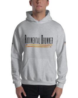 Rudimental Drummer Hooded Sweatshirt - Sport Grey