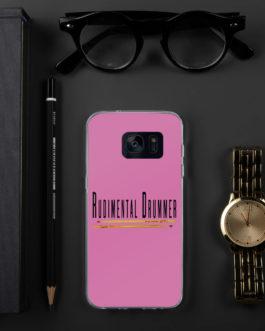 Rudimental Drummer Samsung Case (Pink) - Samsung Galaxy S7