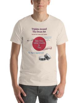 Triplets Around the Drums Short-Sleeve Unisex T-Shirt - Soft Cream