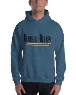 Rudimental Drummer Hooded Sweatshirt - Indigo Blue