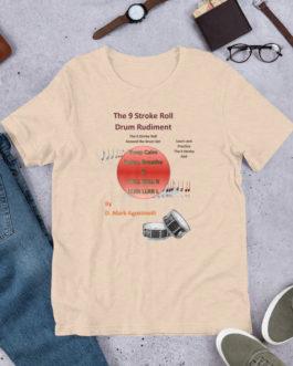 The 9 Stroke Roll Short-Sleeve Unisex T-Shirt - Heather Dust