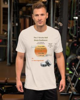 The 7 Stroke Roll Short-Sleeve Unisex T-Shirt - Soft Cream
