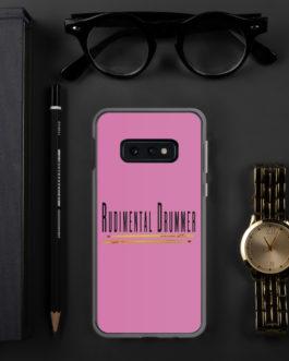 Rudimental Drummer Samsung Case (Pink) - Samsung Galaxy S10e