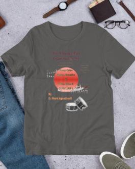 The 9 Stroke Roll Short-Sleeve Unisex T-Shirt - Asphalt