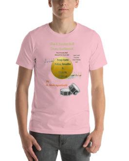 The 6 Stroke Roll Short-Sleeve Unisex T-Shirt - Pink