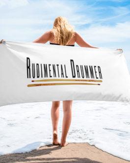 Rudimental Drummer Towel