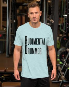 Dreams Rudimental Drummer Short-Sleeve Unisex T-Shirt - Heather Prism Ice Blue