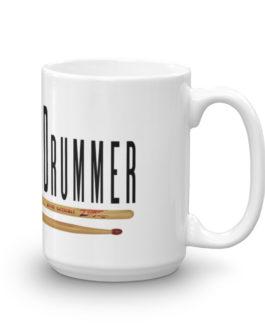 Rudimental Drummer Mug - 15oz