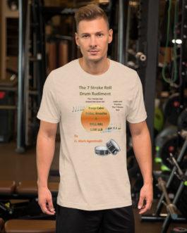 The 7 Stroke Roll Short-Sleeve Unisex T-Shirt