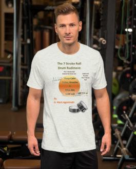 The 7 Stroke Roll Short-Sleeve Unisex T-Shirt - Ash