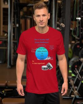 The 4 Stroke Ruff Short-Sleeve Unisex T-Shirt - Red