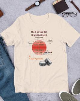 The 9 Stroke Roll Short-Sleeve Unisex T-Shirt - Soft Cream