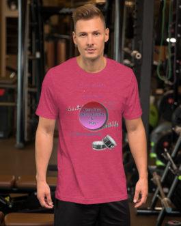 Crazy Hands - Flams Short-Sleeve Unisex T-Shirt - Heather Raspberry