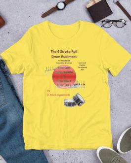 The 9 Stroke Roll Short-Sleeve Unisex T-Shirt - Yellow