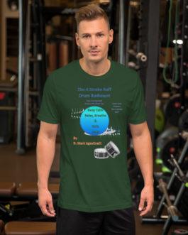 The 4 Stroke Ruff Short-Sleeve Unisex T-Shirt - Forest