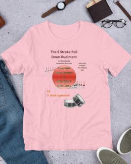 The 9 Stroke Roll Short-Sleeve Unisex T-Shirt - Pink