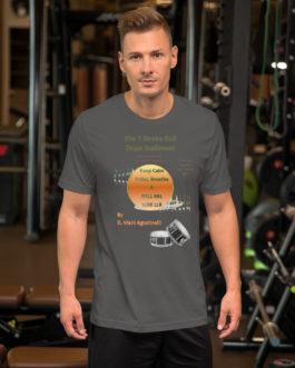 The 7 Stroke Roll Short-Sleeve Unisex T-Shirt - Asphalt