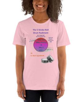 The 5 Stroke Roll Short-Sleeve Unisex T-Shirt - Pink